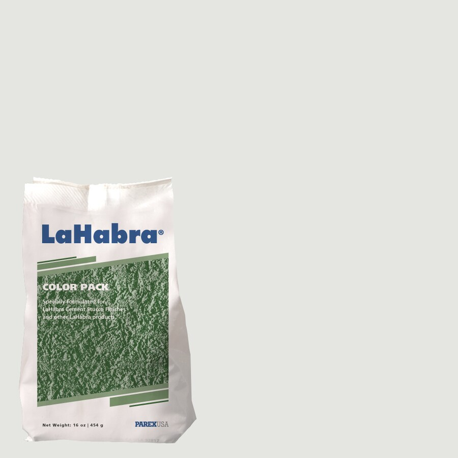 LaHabra 1-lb Gray Stucco Color Mix