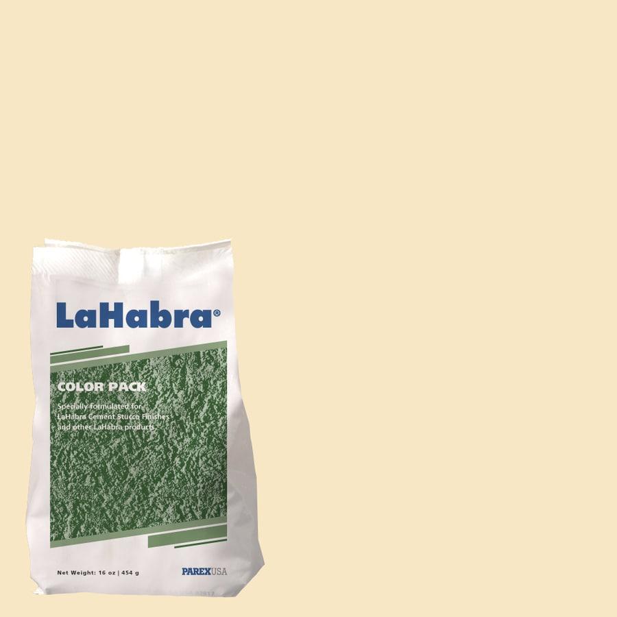 LaHabra 1-lb Orange Stucco Color Mix