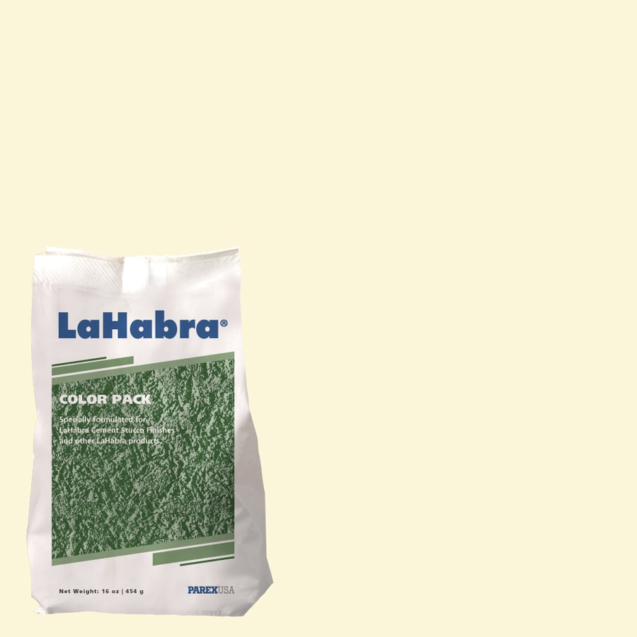 LaHabra 1-lb Yellow Stucco Color Mix