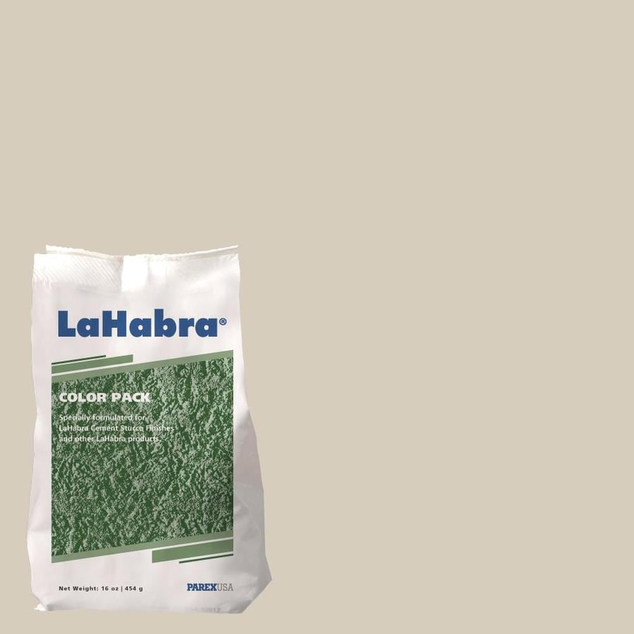 LaHabra 1-lb Brown Stucco Color Mix