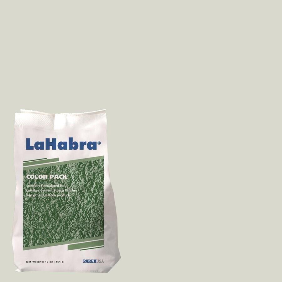 LaHabra 1-lb Green Stucco Color Mix