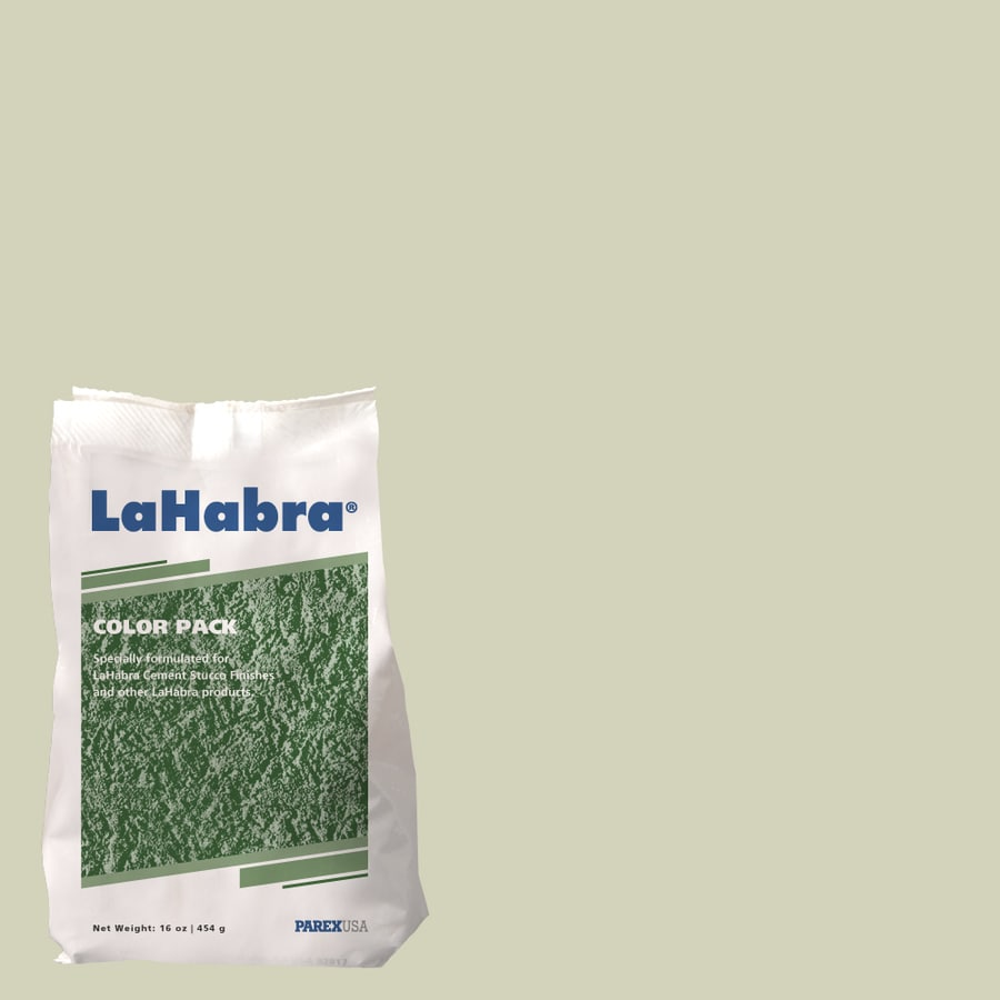LaHabra 1-lb Green Stucco Color Mix