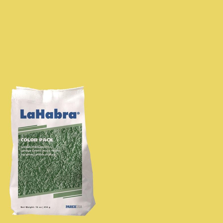 LaHabra Lifestyle 2-lb Yellow Stucco Color Mix