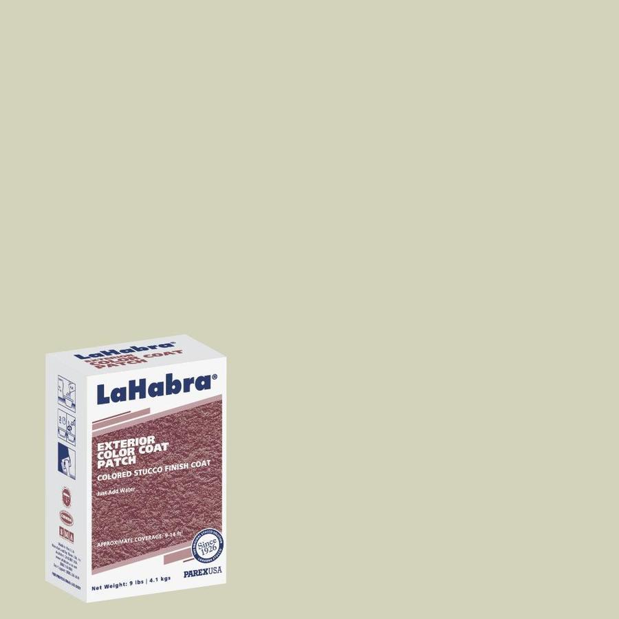 LaHabra 9-lb Green Stucco Color Mix