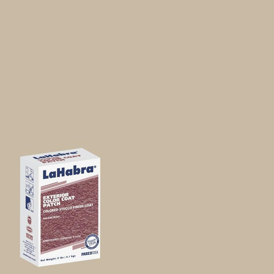 LaHabra 9-lb Brown Stucco Color Mix
