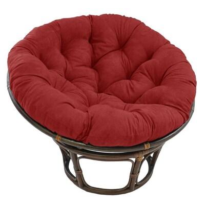 Peachy Blazing Needles 48 In Solid Microsuede Papasan Cushion Fits Cjindustries Chair Design For Home Cjindustriesco