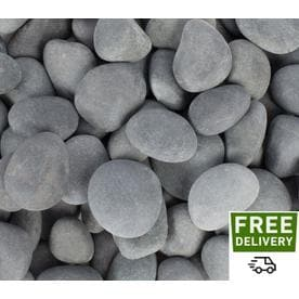 Rain Forest 20 Lb Gray Mexican Beach Pebbles