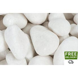 White Landscaping Rock at Lowes com