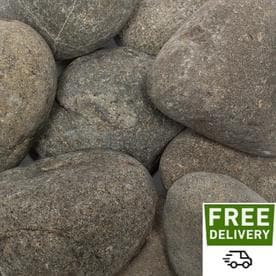 Caribbean River Pebbles Bulk Landscaping Rock At Lowes Com
