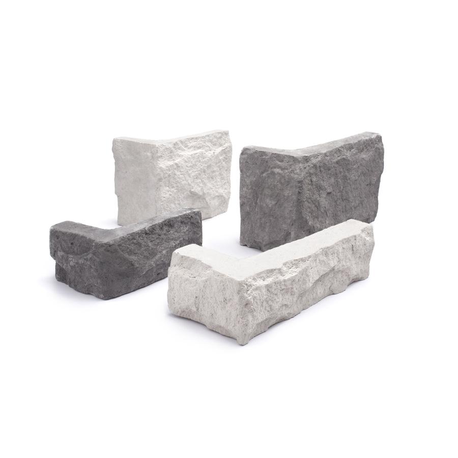 LiteStone 6 Linear-ft Shadow Grey Outside Corner Stone Veneer Trim