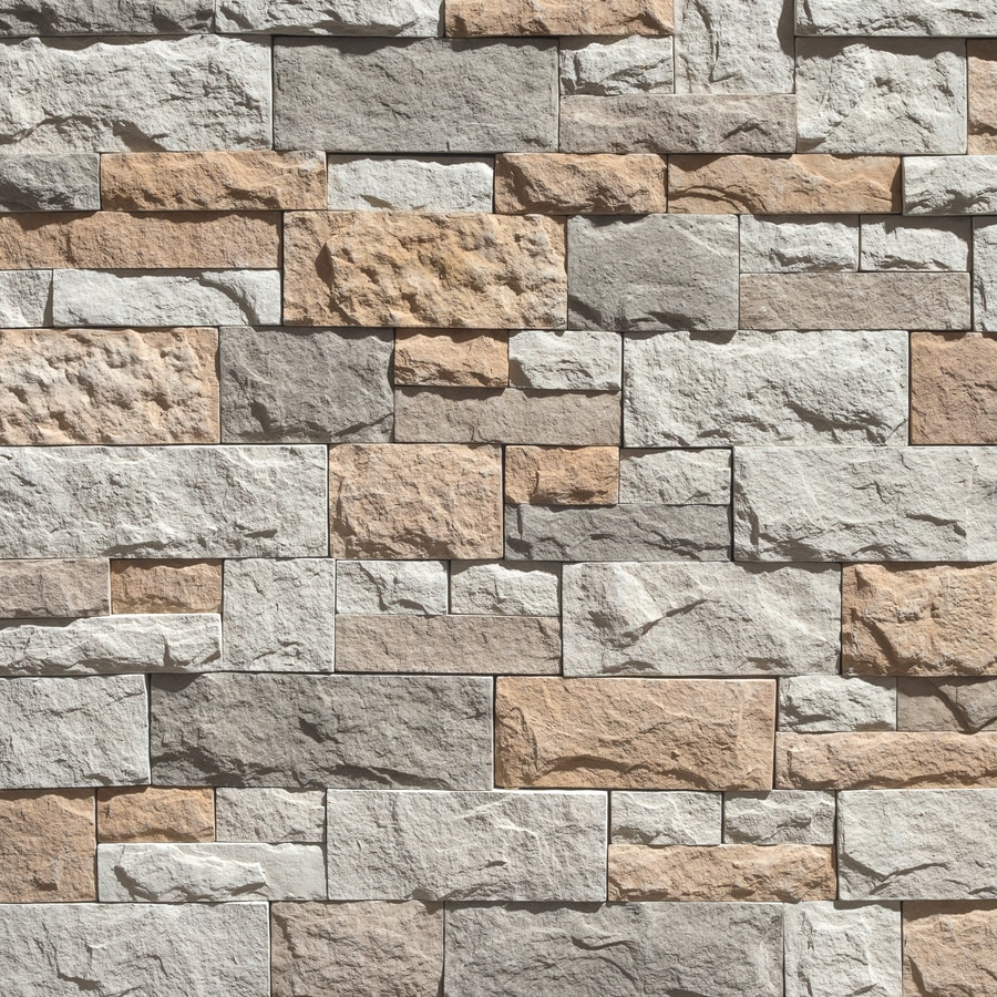 Litestone 8 Square Ft Himalaya Faux Stone Veneer At Lowes Com