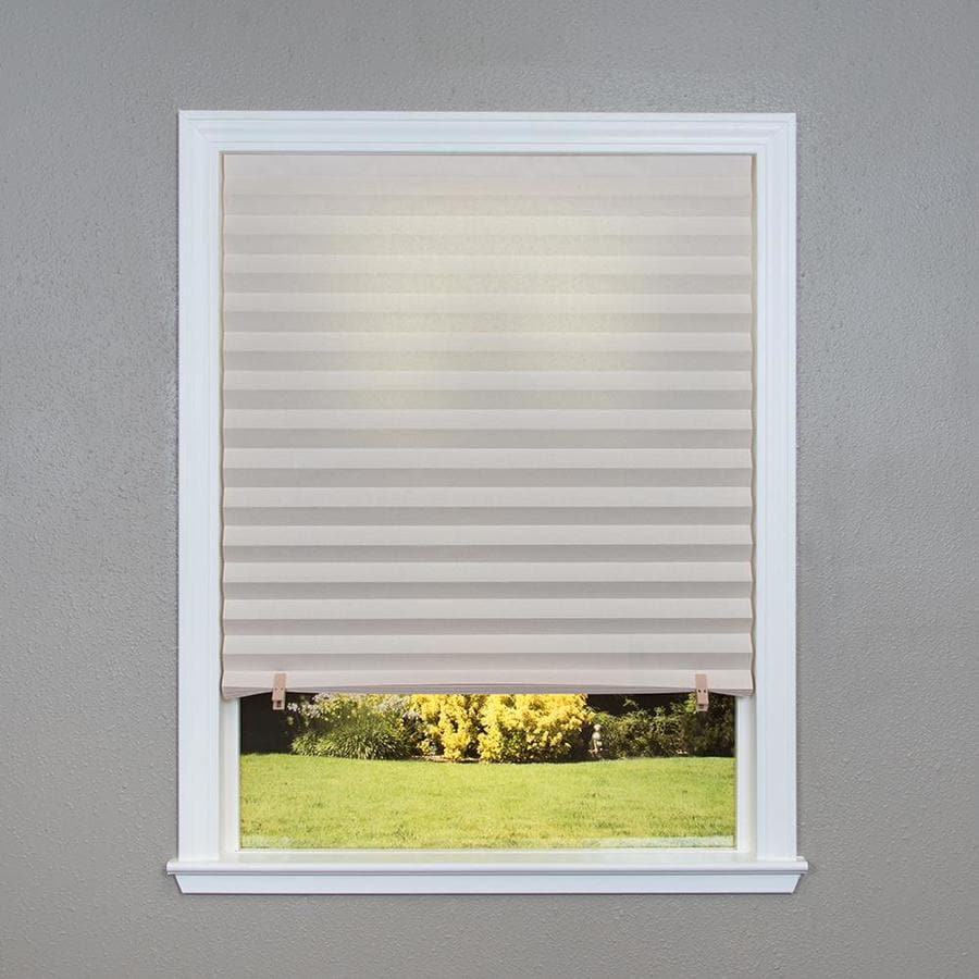 Redi Shade Natural Light Filtering Cordless Polyester Cellular Shade (Common 48-in; Actual: 47.75-in x 64-in)
