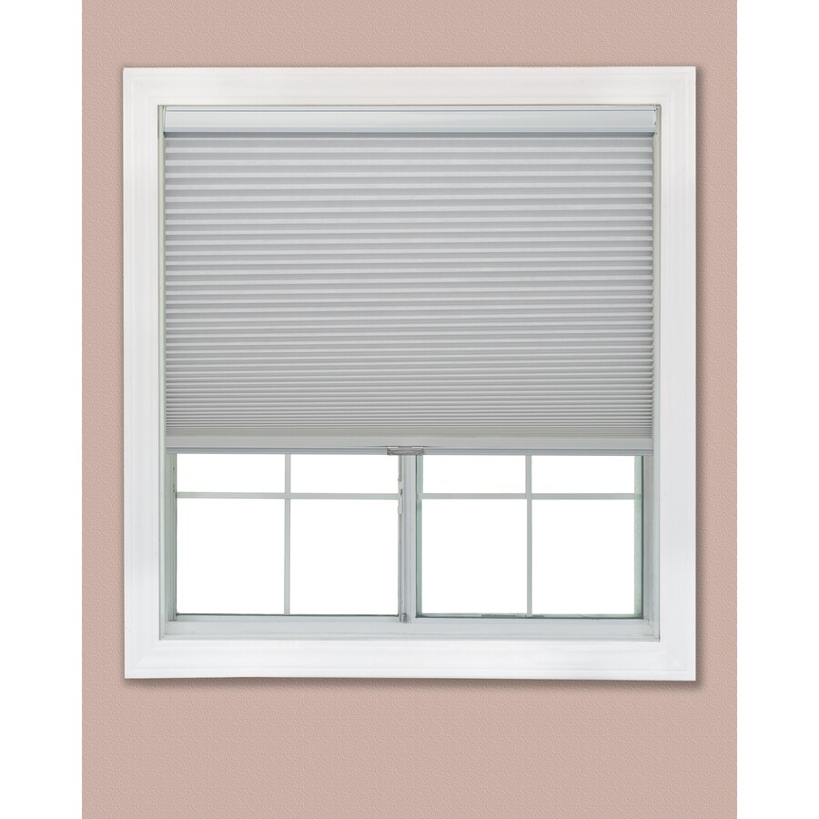 Redi Shade 26.25-in W x 72-in L Snow Blackout Cellular Shade