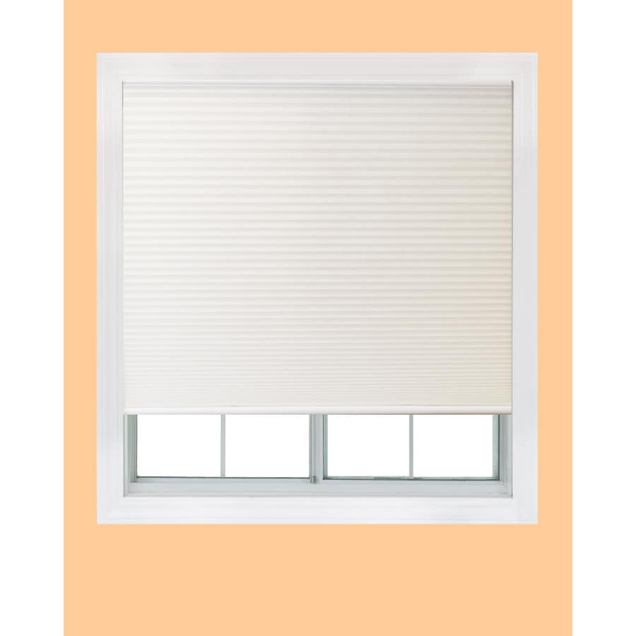 Redi Shade White Light Filtering Cordless Polyester Cellular Shade (Common 48-in; Actual: 47.75-in x 72-in)