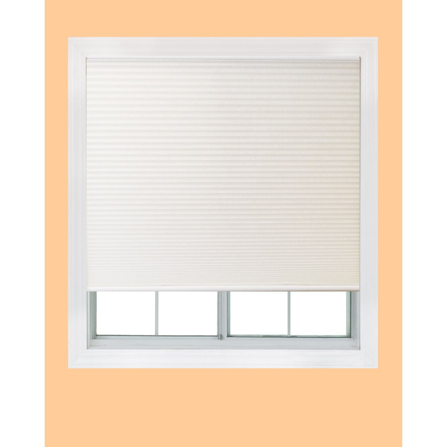 Redi Shade White Light Filtering Cordless Polyester Cellular Shade (Common 60-in; Actual: 59.75-in x 72-in)