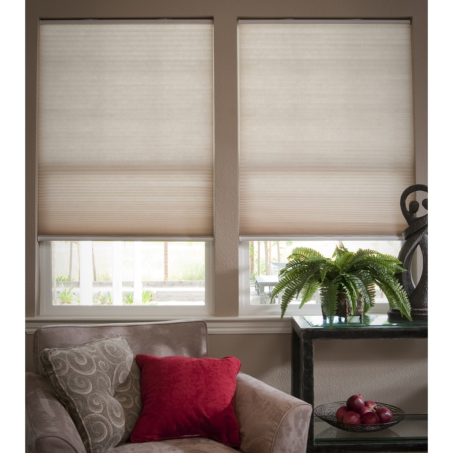 Redi Shade Natural Light Filtering Cordless Polyester Cellular Shade (Common 30-in; Actual: 29.75-in x 72-in)
