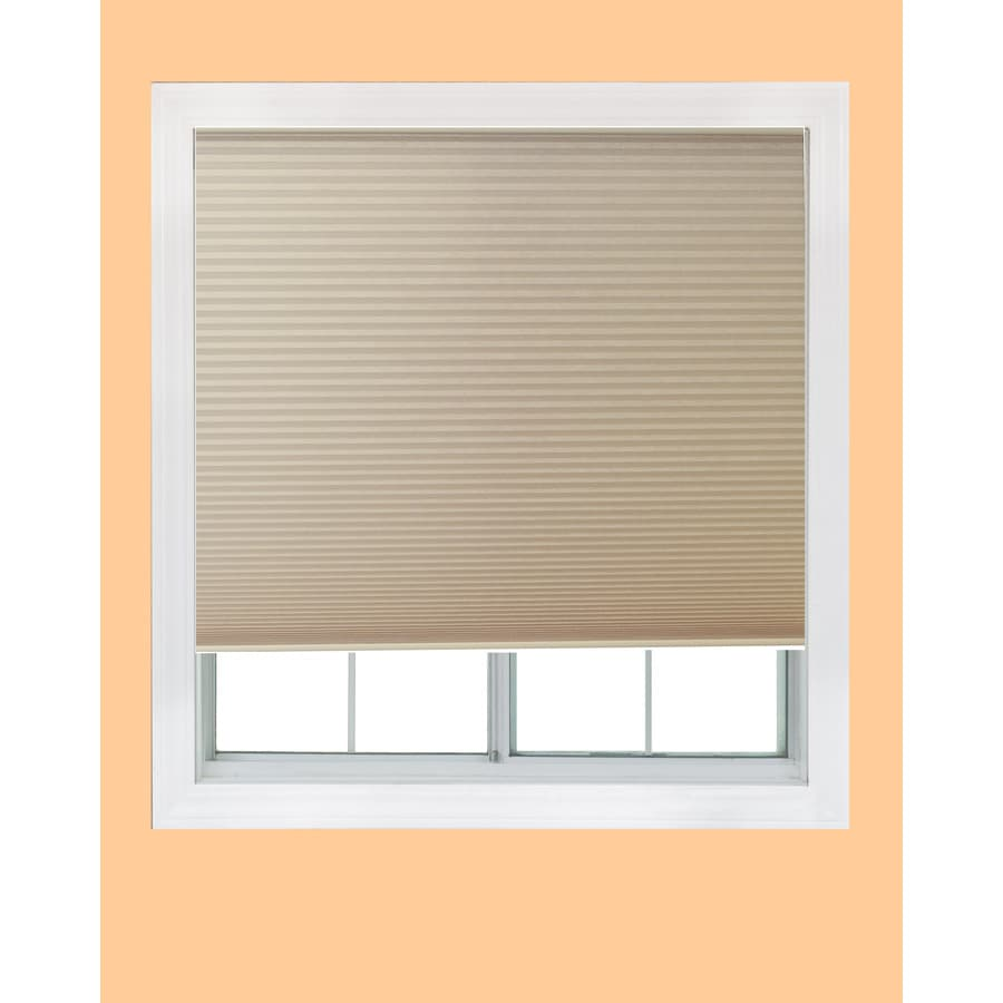 Redi Shade Natural Light Filtering Cordless Polyester Cellular Shade (Common 48-in; Actual: 47.75-in x 72-in)