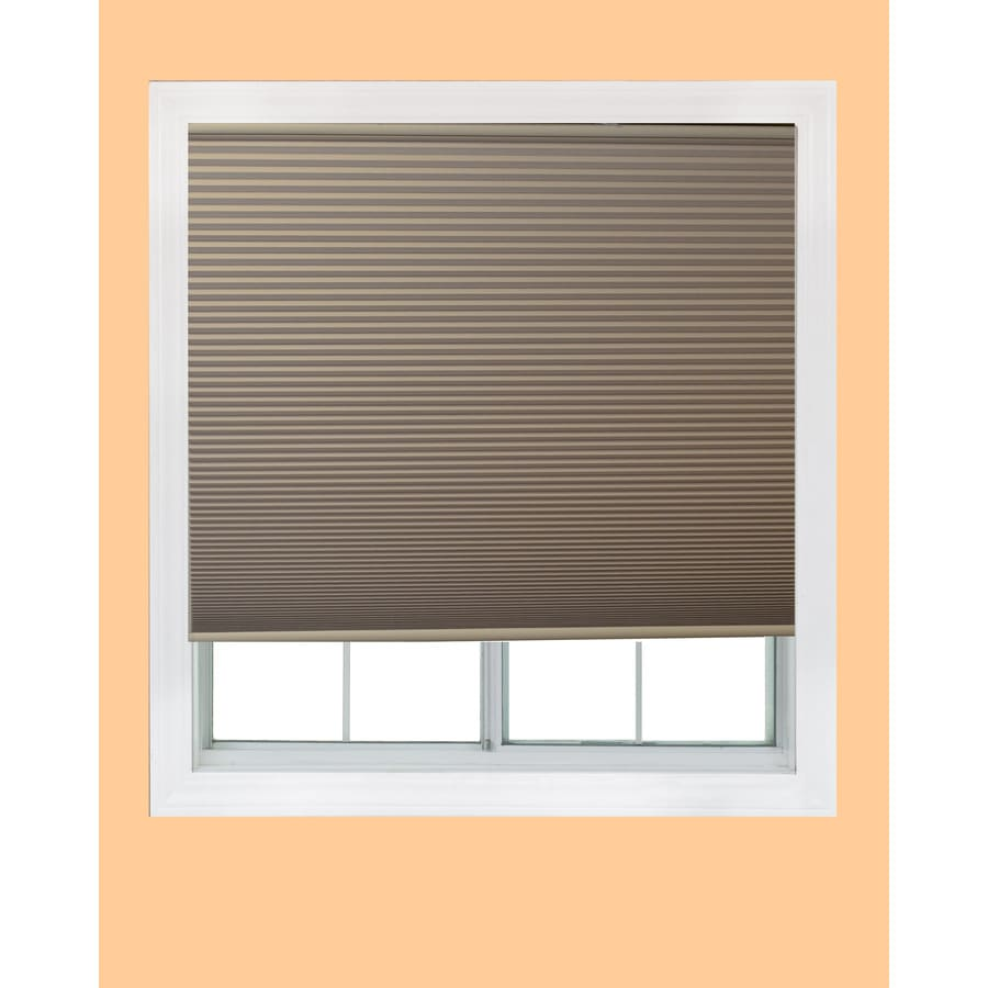 Redi Shade Natural Blackout Cordless Polyester Cellular Shade (Common 60-in; Actual: 59.75-in x 72-in)