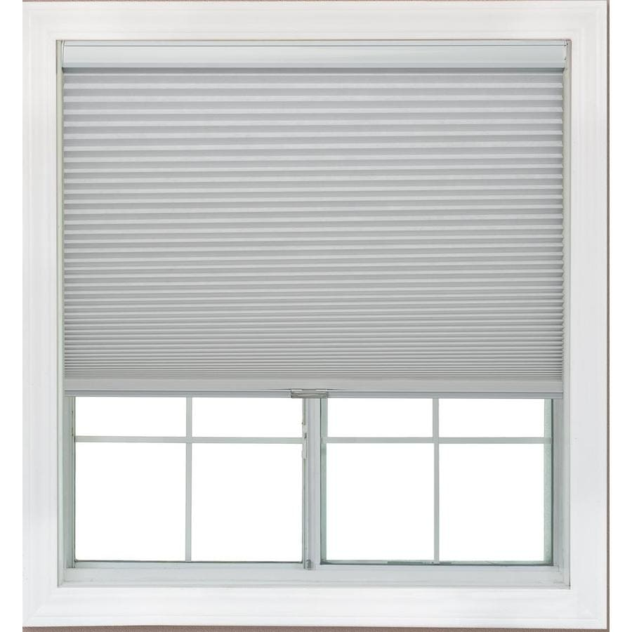 Redi Shade 57.25-in W x 72-in L Snow Blackout Cellular Shade