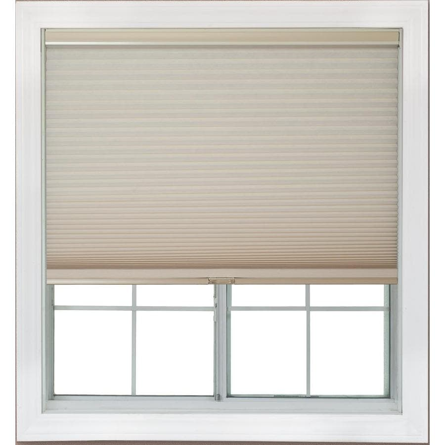 Redi Shade 55.125-in W x 72-in L Natural Light Filtering Cellular Shade
