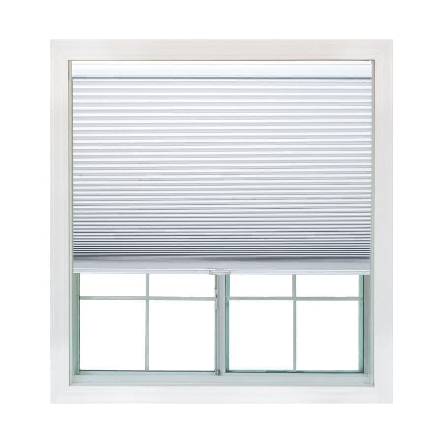 Redi Shade 55.125-in W x 72-in L Snow Light Filtering Cellular Shade