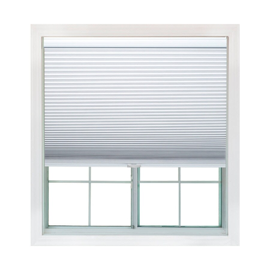 Redi Shade 63.375-in W x 72-in L Snow Light Filtering Cellular Shade