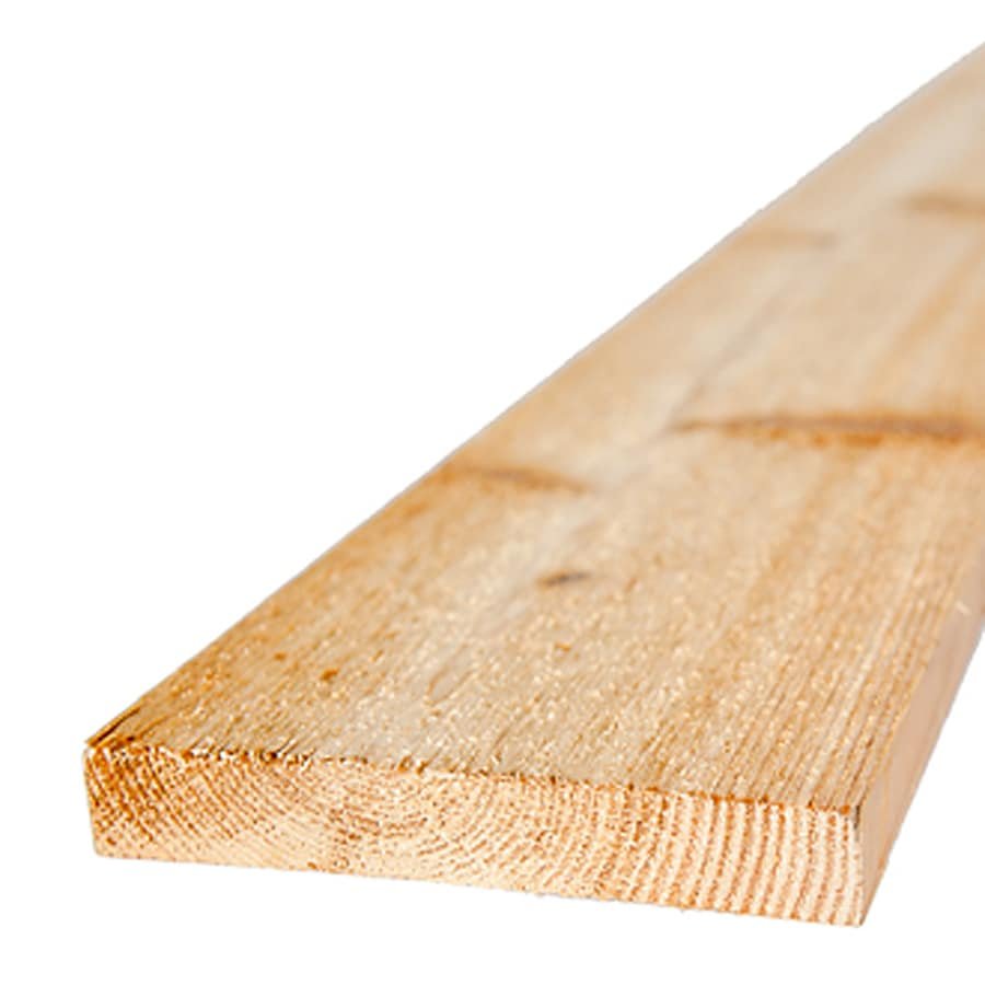 (Common: 1-in x 6-in x 10-ft; Actual: 0.6875-in x 5.5-in x 10-ft) Cedar Board