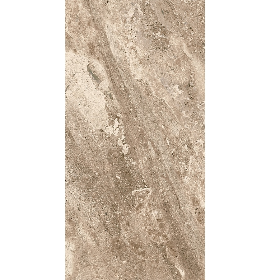 Delicieux Nitrotile MAURITZZIO Beige Ceramic Travertine Floor And Wall Tile (Common:;  Actual: 23.52