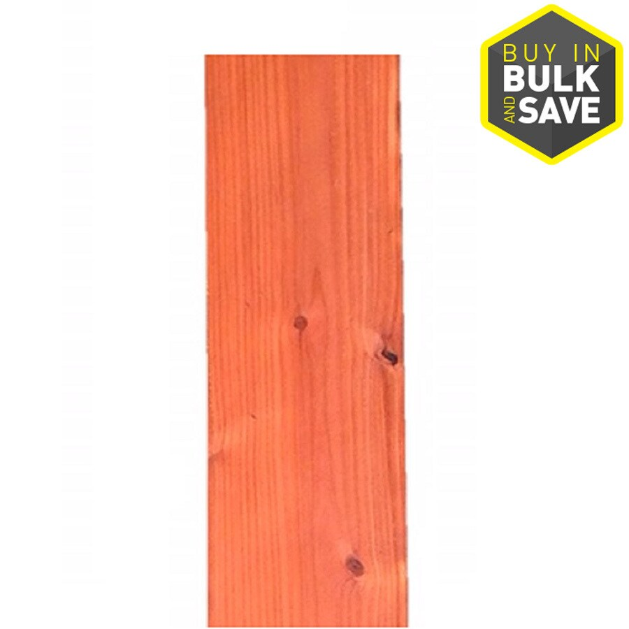 Top Choice Natural Redwood Fence Picket (Common: 1-in x 8-in x 6-ft; Actual: 0.7187-in x 7.625-in x 6-ft)