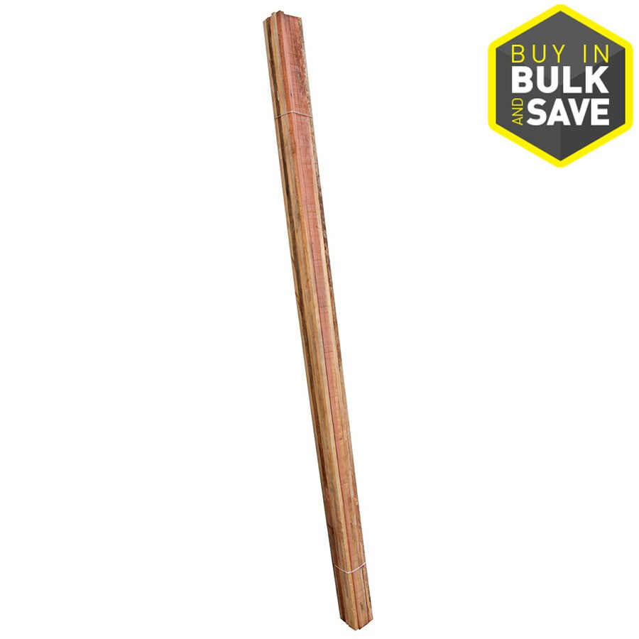 Top Choice (Common: 3/4-in x 1-in x 8-ft; Actual: 0.75-in x 0.75-in x 8-ft) Natural Redwood Fence Picket