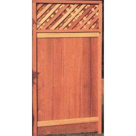Wood fence Fence Gates at Lowes com