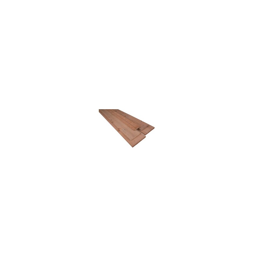 Top Choice Construction Heart Radius Edge California Heart Wood Redwood Board (Actual: 0.6875-in x 3.5-in x 8 Feet)