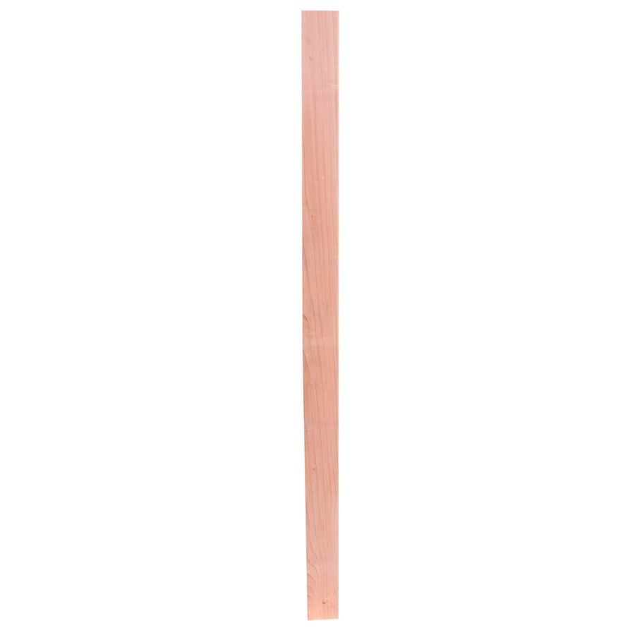 Top Choice Construction Heart Radius Edge California Heart Wood Redwood Board (Actual: 0.6875-in x 2.5-in x 12 Feet)