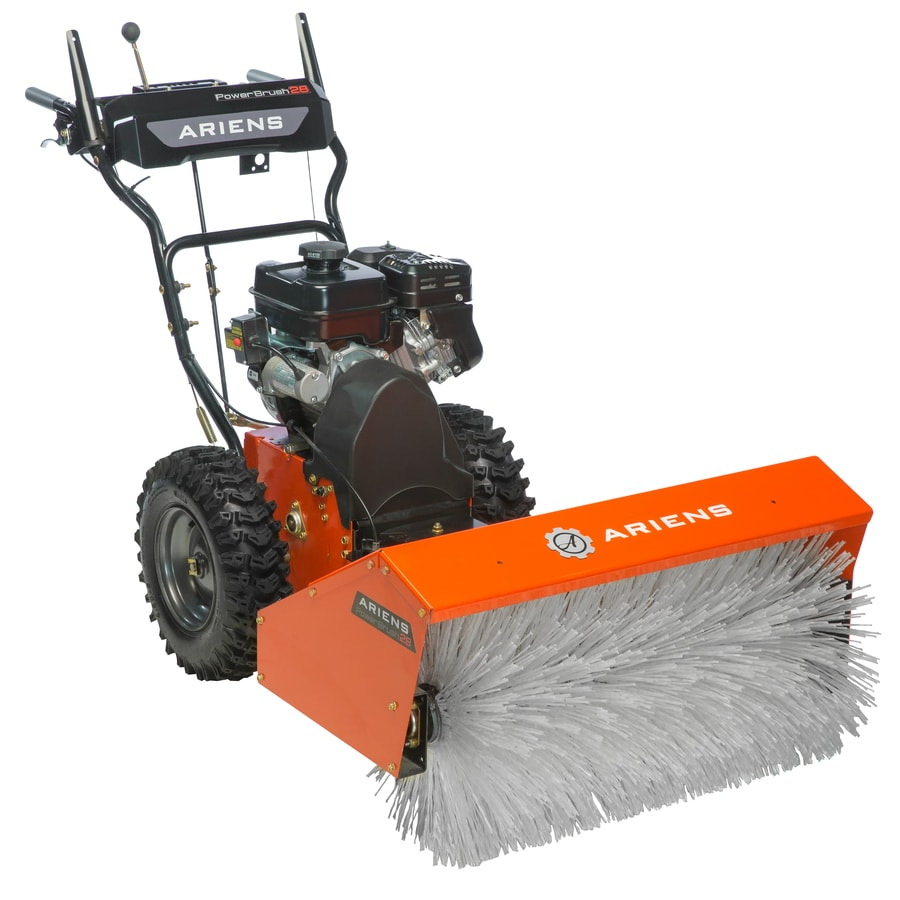 Gas Powered Snow Blowers : Shop ariens power brush cc in two stage electric