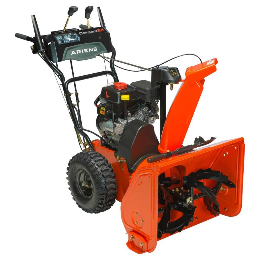 Ariens Compact 24 208CC 24-in Two-Stage Electric Start Gas Snow Blower with Headlight