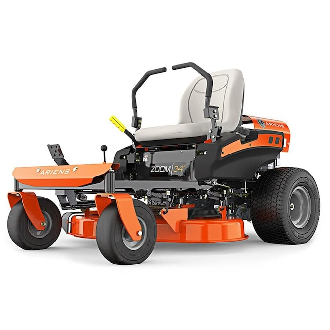 Ariens Zoom 19 Hp V Twin Dual Hydrostatic 34 In Zero Turn Lawn Mower With Mulching Capability Kit Sold Separately In The Zero Turn Riding Lawn Mowers Department At Lowes Com