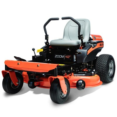 Zoom 19 Hp V Twin Dual Hydrostatic 42 In Zero Turn Lawn Mower With Mulching Capability Kit Sold Separately