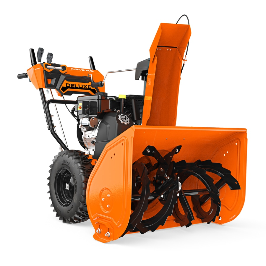 Ariens Deluxe 30 30-in Two-stage Push-button Electric Start Gas Snow Blower Heated Handles and Headlight