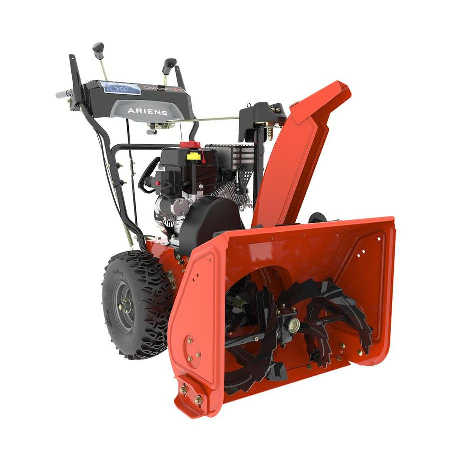 Ariens Compact 24 24-in Two-stage Push-button Electric Start Self-propelled Gas Snow Blower with Headlight