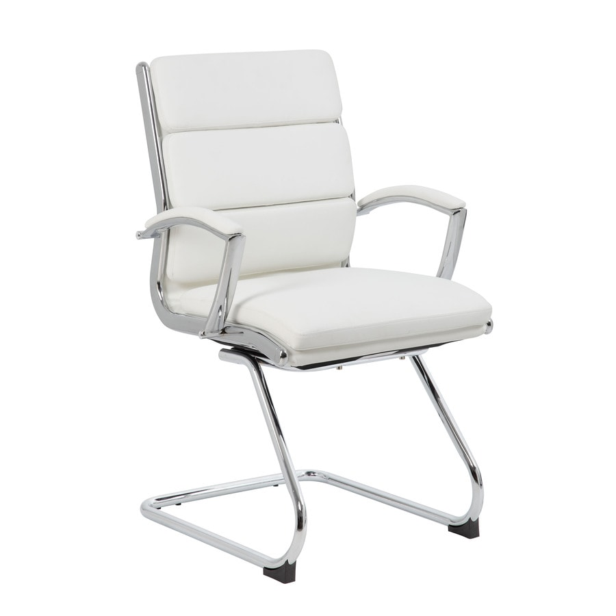 Boss Office Products Grey Contemporary Ergonomic Task Chair In The Office Chairs Department At Lowes Com