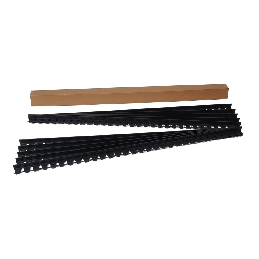 EasyFlex 10-Pack 6-ft Black Plastic Landscape Edging Section