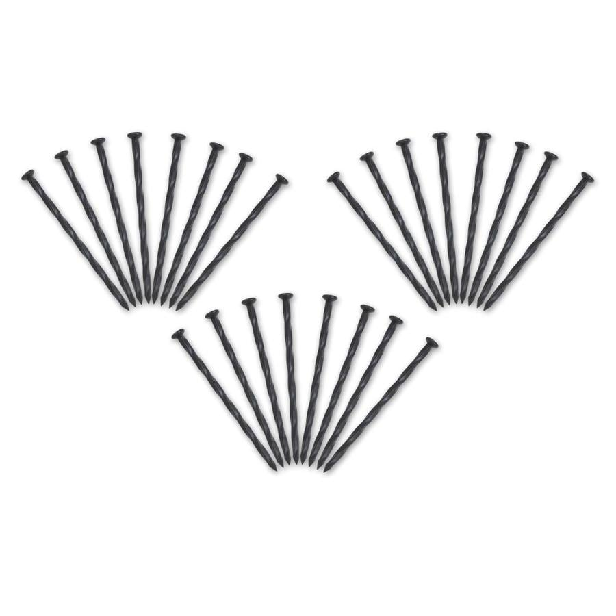 EasyFlex 24-Pack 8-in Plastic Edging Stakes