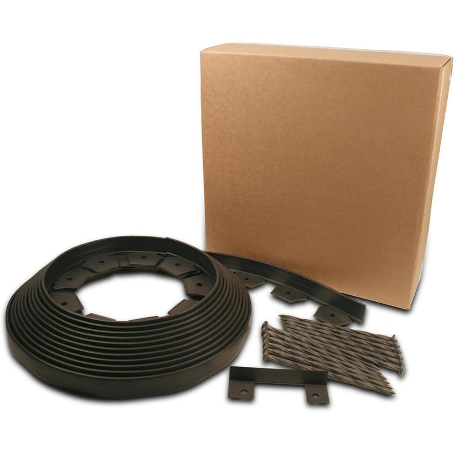 EasyFlex 40-ft Black Poly Landscape Edging Roll
