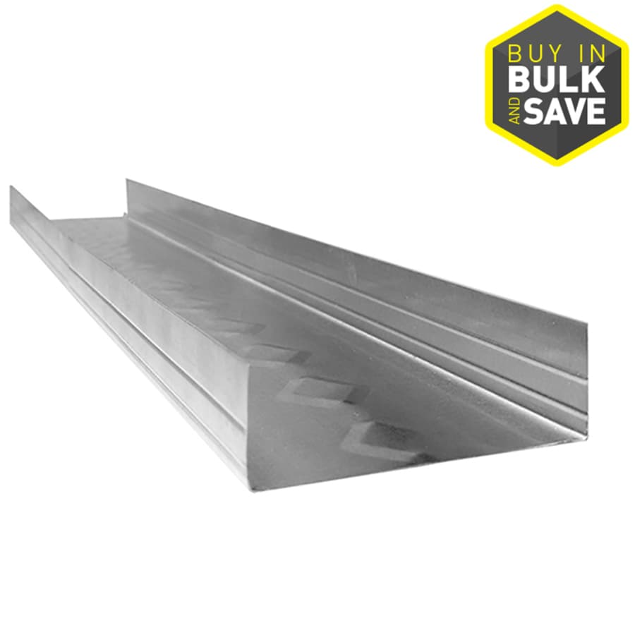 ProTRAK 2.5-in W x 120-in L x 1.25-in D Galvanized Steel Metal Track