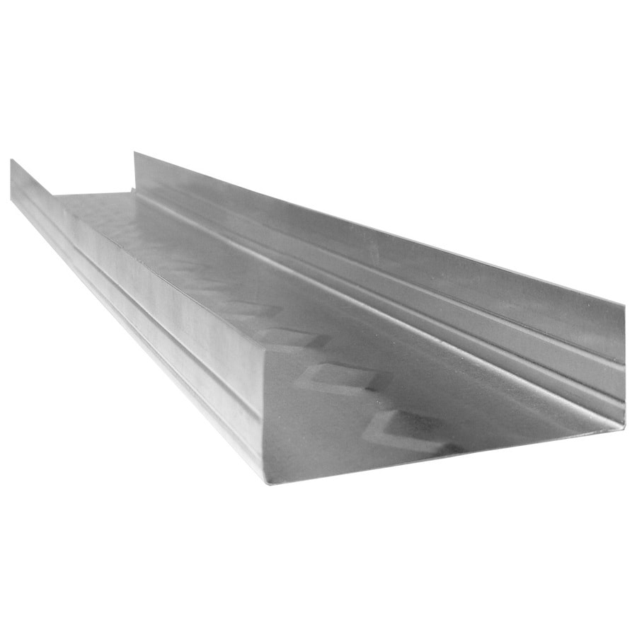 ProTRAK 3.625-in W x 120-in L x 1.25-in D Galvanized Steel Metal Track