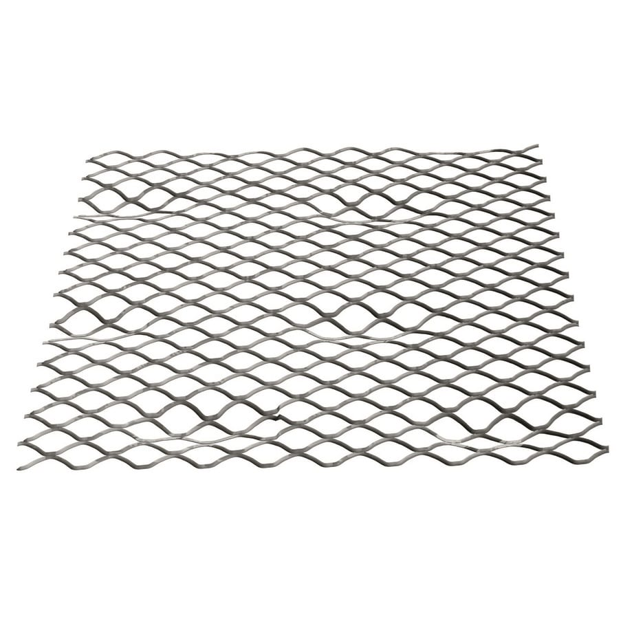 (Common: 27-in x 96-in; Actual: 27-in x 97-in) Self-Furring Lath Galvanized Steel Stucco Netting