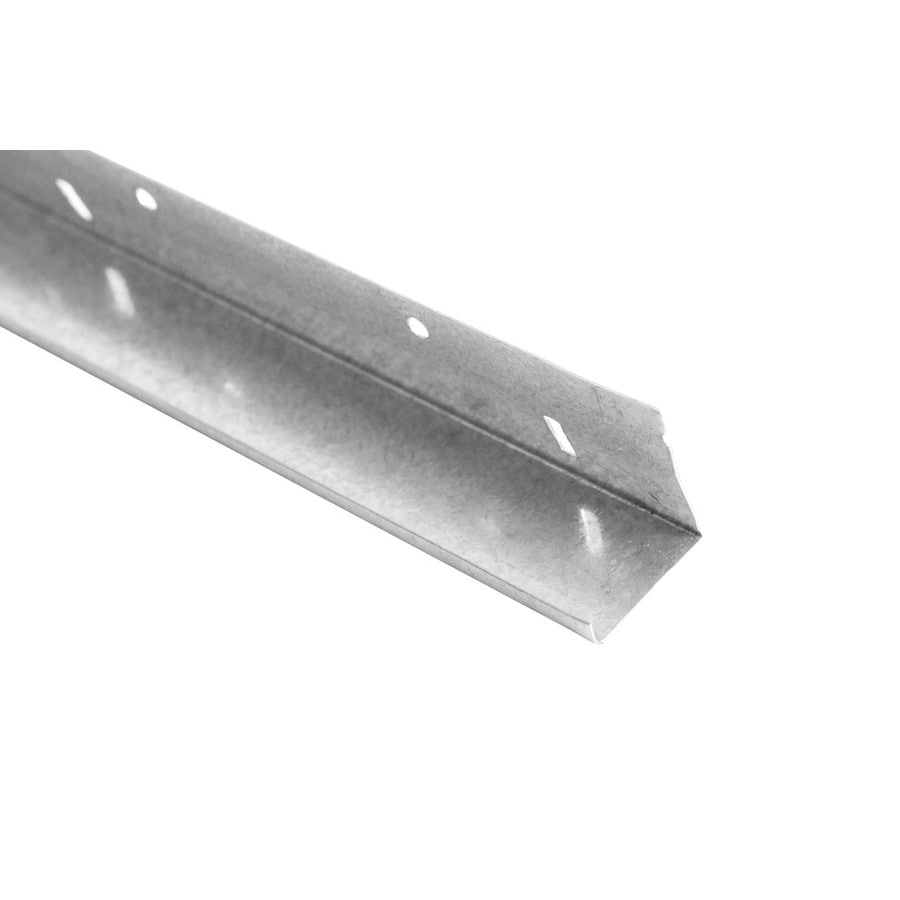 (Common: 0.5-in x 10-ft; Actual: 0.5-in x 10-ft) Galvanized Carbon Steel Stucco Trim