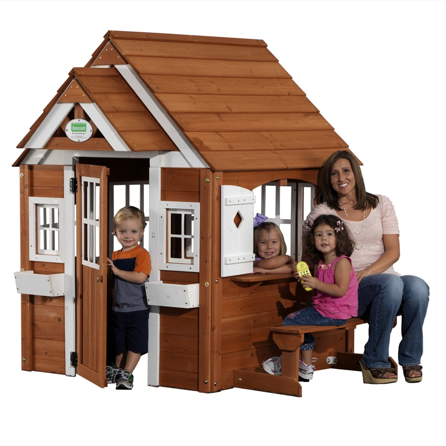 Leisure Time Products The Winchester Cedar Playhouse At Lowescom