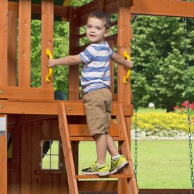 Backyard Discovery Oakmont Residential Wood Playset With