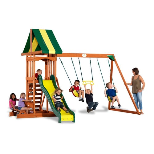 Backyard Discovery Prestige Residential Wood Playset At